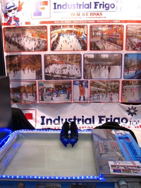 Industrial Frigo ice