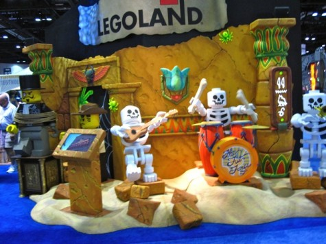Legoland Skeleton Band