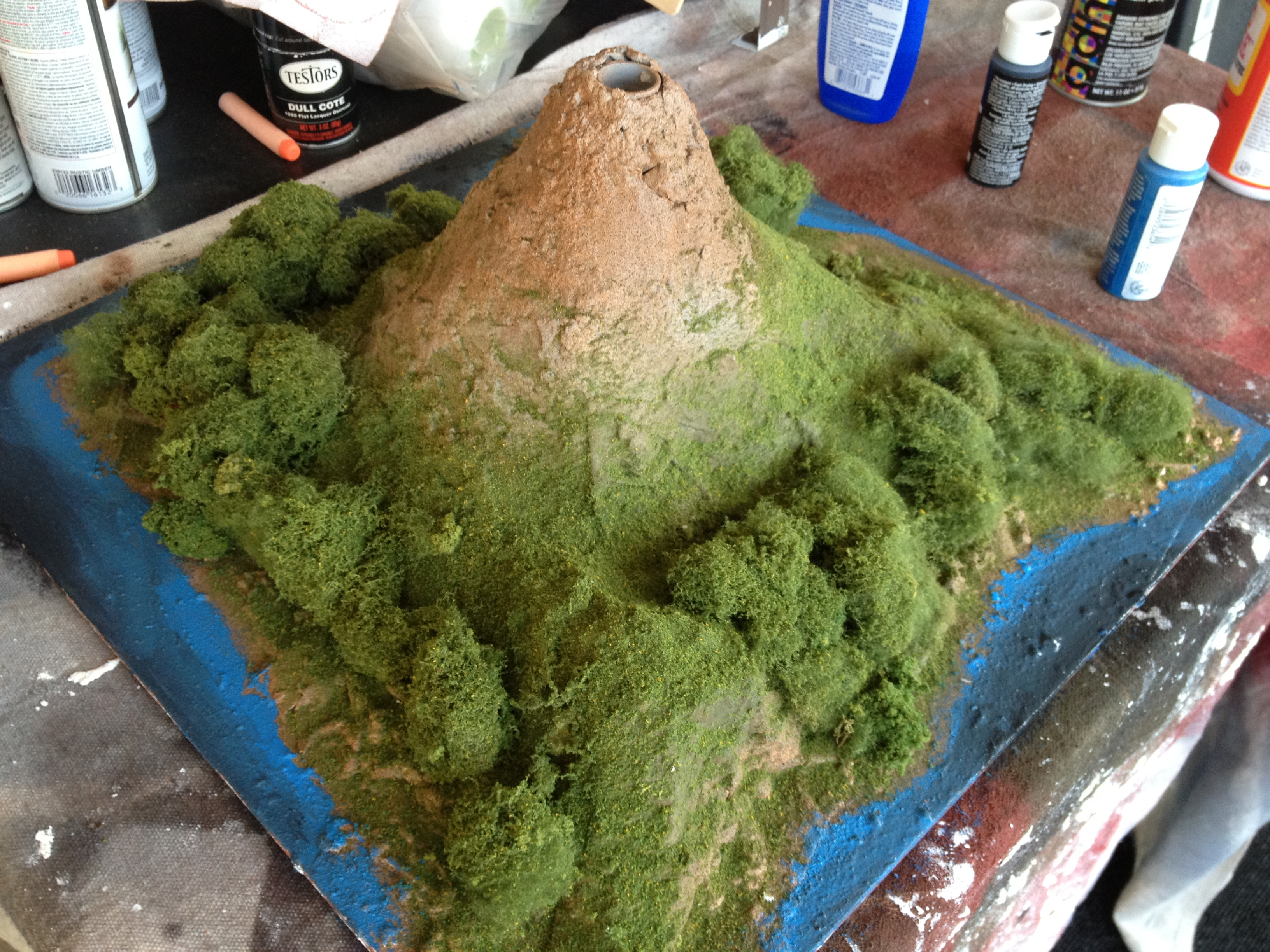 The Ubiquitous School Volcano Project