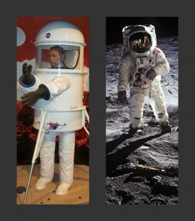 bra company made spacesuits,