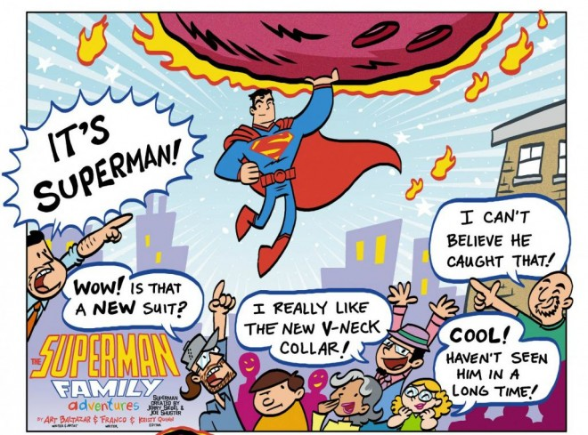 Superman Family Adventures / Image: Copyright DC Comics