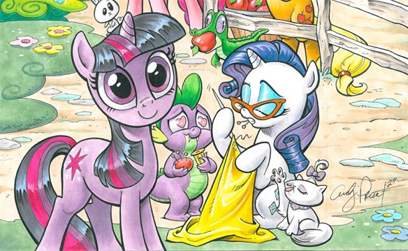 My Little Pony  Image: IDW Publishing