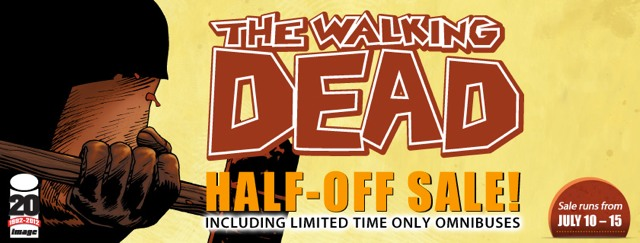 The Walking Dead Half-Off Sale / Image: Comixology
