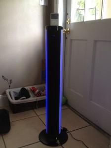 iP76 with my living room blinds open / Image: Dakster Sullivan