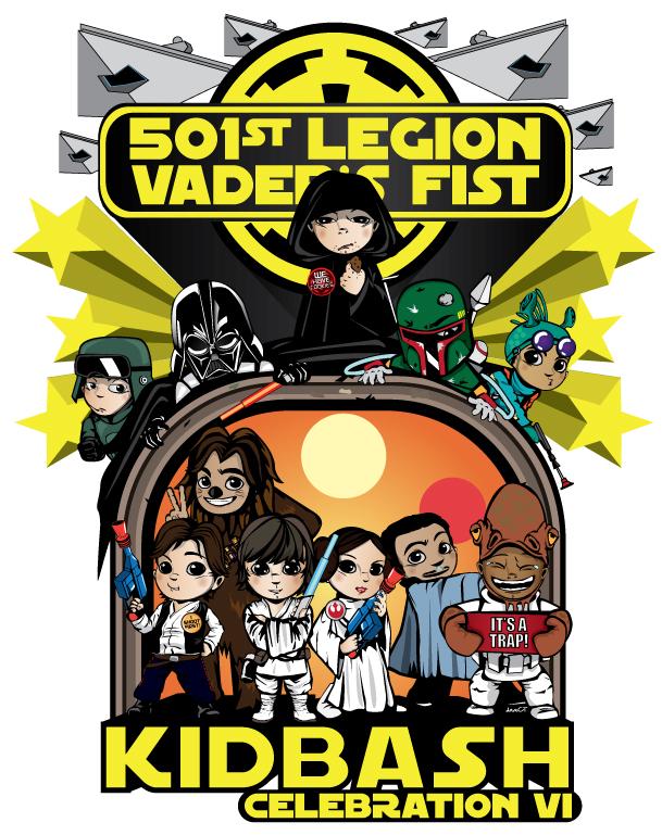 501st Legion Kid Bash Logo / Image: Dave Liew