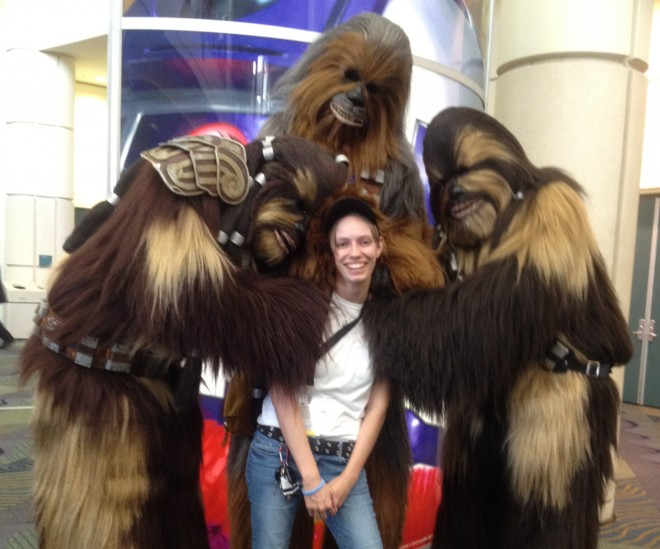 Time for some Wookie love! / Image: Wookie Workshop