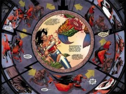 Batwoman #12, art by J.H. Williams III  Image: copyright DC Comics.
