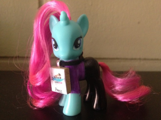 Introducing the GeekMom Pony! / Image: Dakster Sullivan
