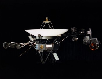Voyager leaving the solar system,