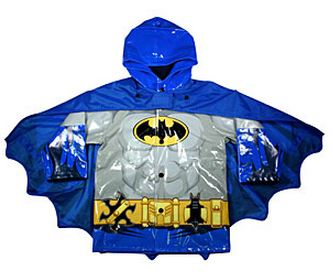 Batman Raincoat  Image: ThinkGeek