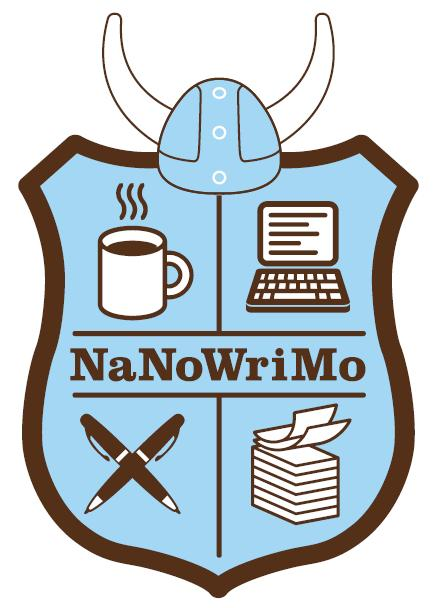 The NaNoWriMo coat of arms