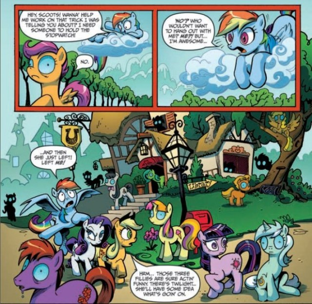 MLP Preview   Image: IDW Publishing