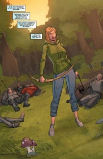Robyn Hood Issue #2 Image: Copyright Zenescope Comics