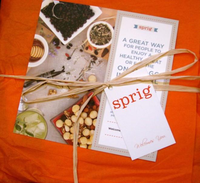 Sprig box