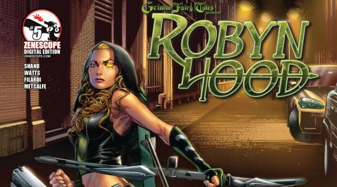 Robyn Hood Issue #5  Image: Copyright Zenescope