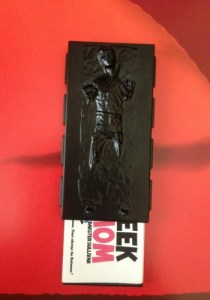 Han Solo in Carbonite business card holder  Image: Dakster Sullivan