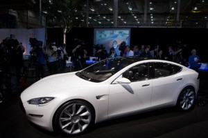 Tesla Model S. Photo: Jim Merithew / Wired.com