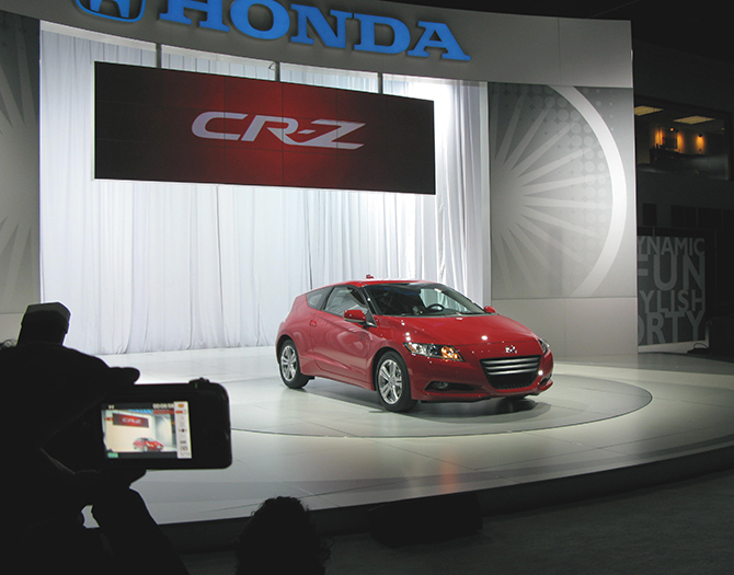 CR-X in Honda's CR-Z