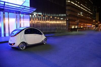 Chrysler's Peapod fuel economy car