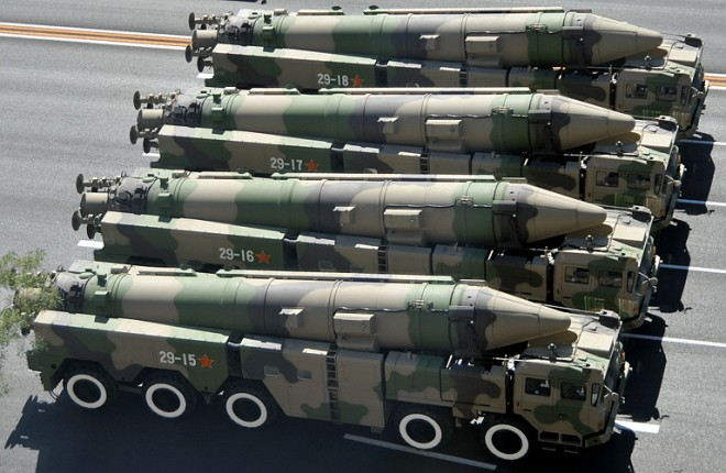China's Plan to Beat U.S.: Missiles, Missiles and More Missiles | WIRED