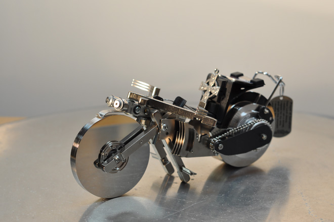 Hard Disk Drives Bike