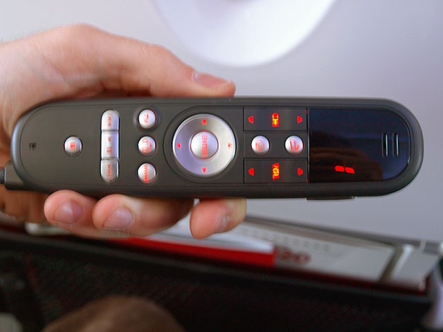 back of Virgin America controller