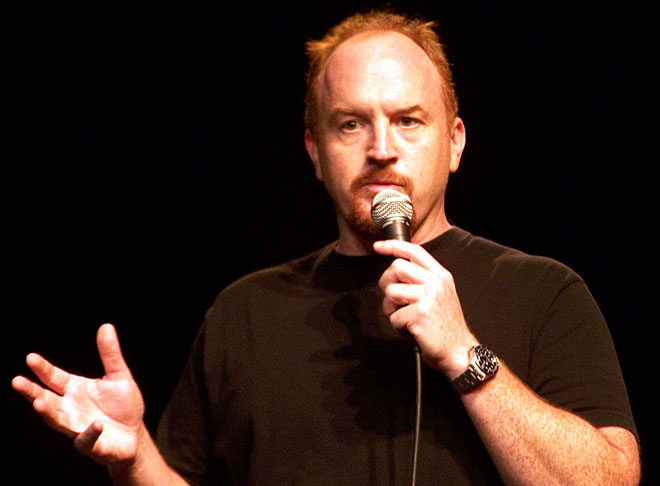 Louis CK doing stand up