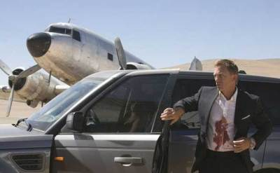 Daniel Craig returned as James Bond for Quantum of Solace