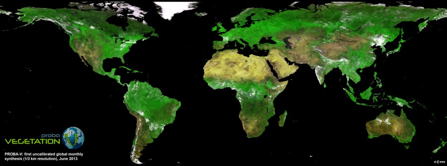 Tiny New Satellite Produces Beautiful Global Vegetation Map   WIRED A satellite