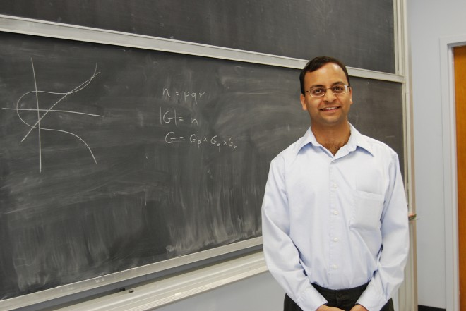 "Amit Sahai, a computer science professor at the University of California, Los Angeles, and his collaborators have developed an ""indistinguishability"" obfuscator that many see as a watershed moment for cryptography. Courtesy of Amit Sahai"