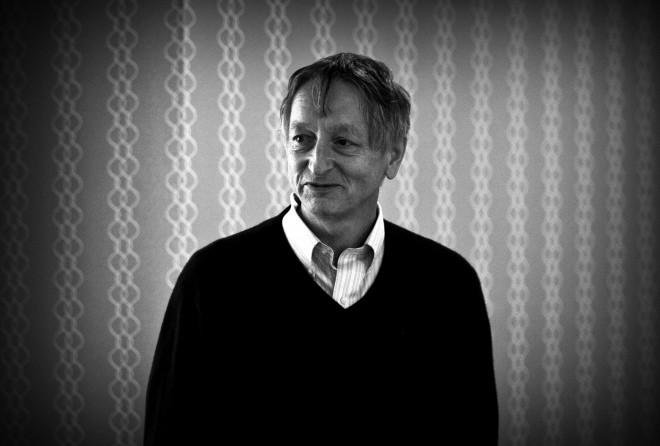 Geoff Hinton, the AI guru who now works for Google. Photo: Josh Valcarcel/WIRED