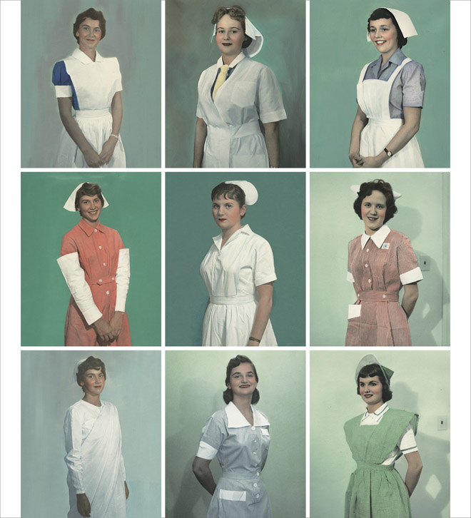 International Nurse Uniform Photograph Collection