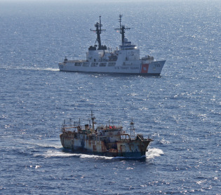 illegal fishing watched from space