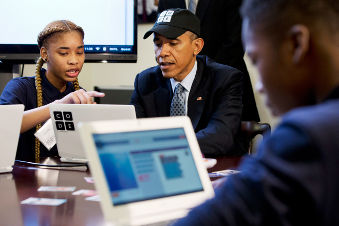 Obama Becomes First President to Write a Computer Program