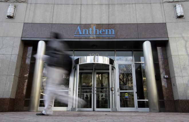 Anthem headquarters in Indianapolis, Jan. 28, 2015.