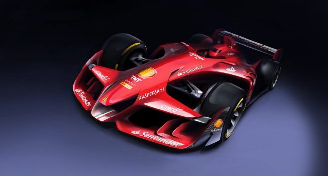 Ferrari's New Concept Car Is a Political Statement About the Problems with Formula 1
