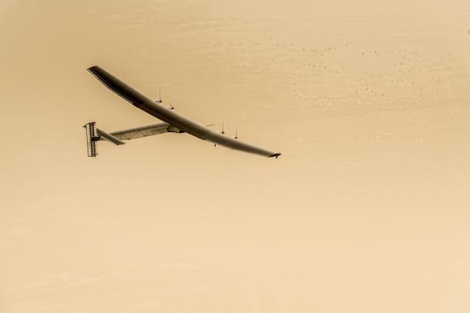 Solar-Powered Plane Begins Its Journey Around the World