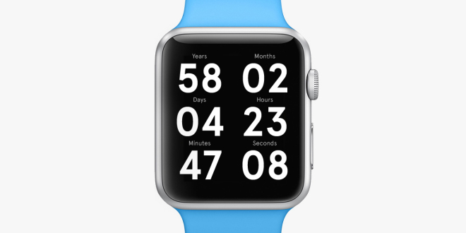 The Apple Watch Face That Counts Down to Your Death