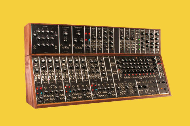 Bob Moog's Beautifully Intricate Drawings of Synth Circuits