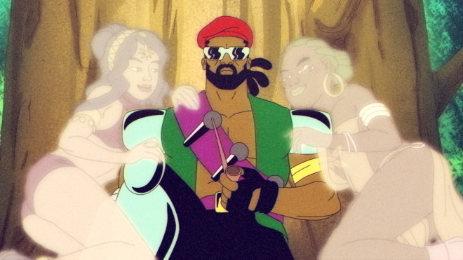 The Warped, Weed-Fueled World of the Major Lazer Cartoon