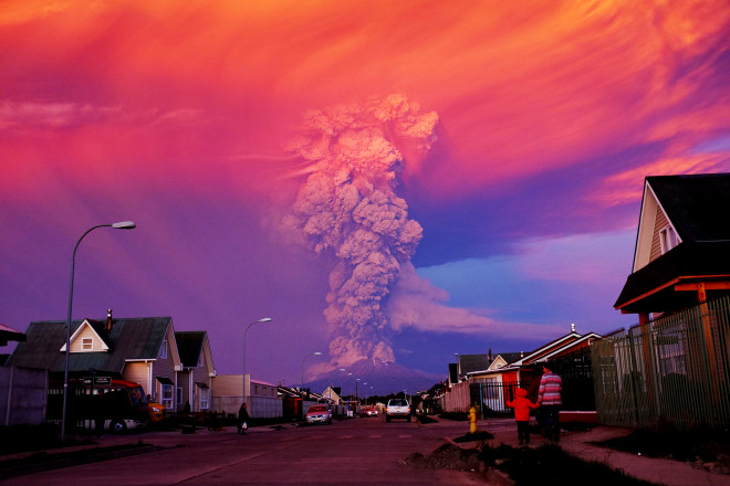 Calbuco Calms Down After Explosions and Lava Flows