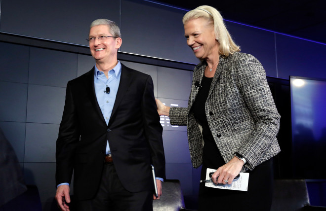 With Apple at Its Side, IBM Grasps for a Shiny New Future