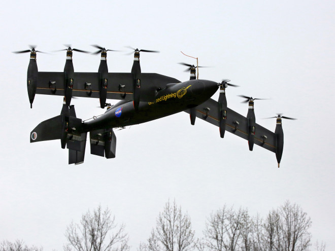 NASA's New 10-Engine Drone Is Half Chopper, Half Plane