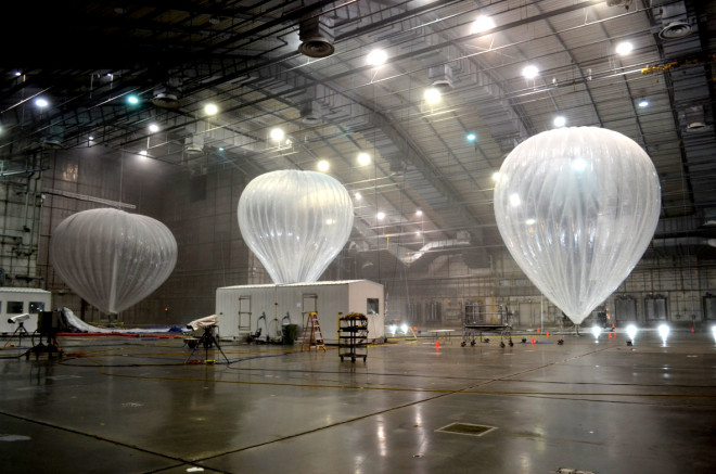 Google Is Testing Its Internet Balloons in a Huge Freezer