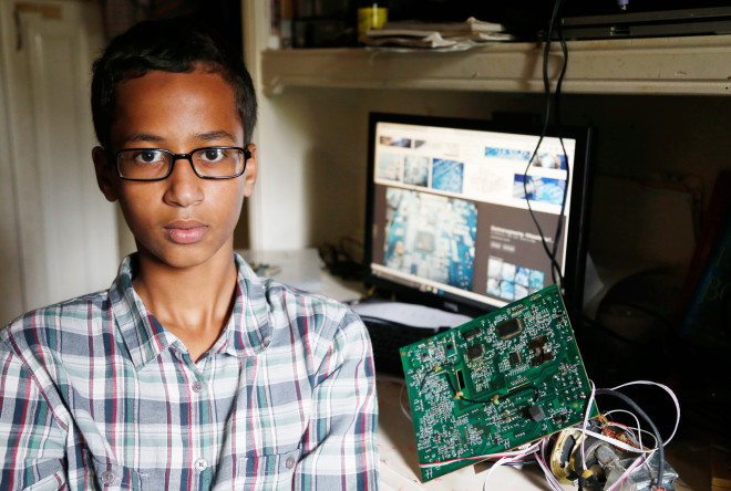 Ahmed Mohamed Is Silicon Valley's New Hero