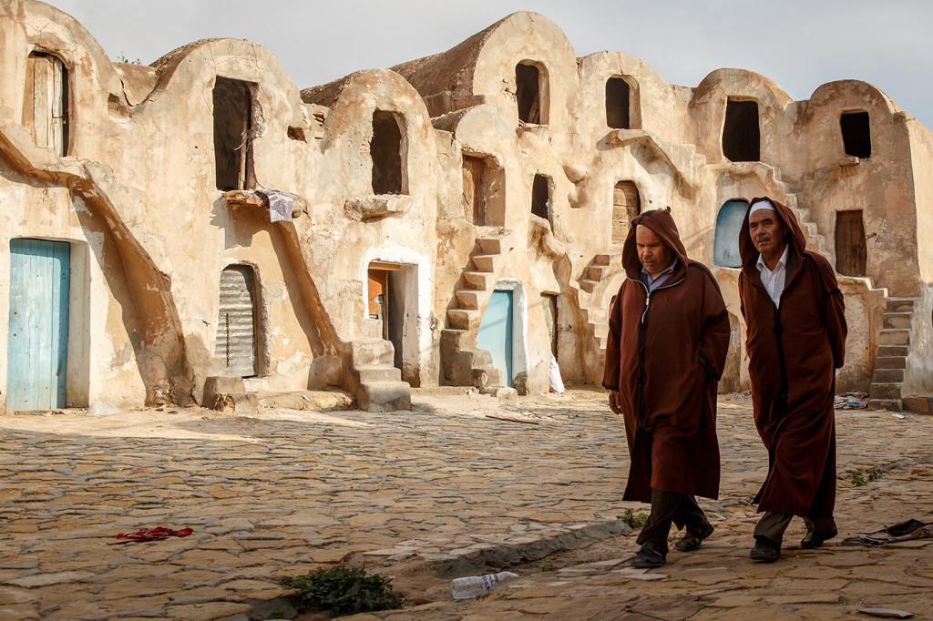 Another Mos Espa site, located at the Ksar Medenine granary. Medenine, Tunisia