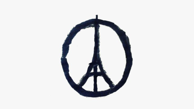 "Meet Jean Jullien, The Artist Behind The ""Peace for Paris"" Symbol"