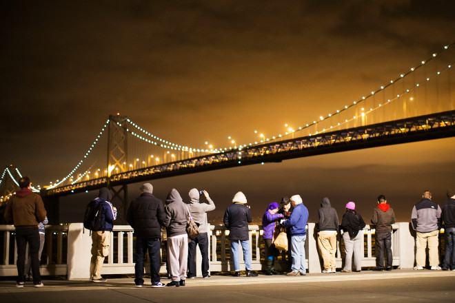 The Bay Bridge Lights Are Coming Back for Good