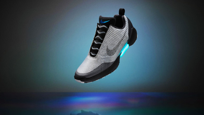 Nike's Back to the Future Self-Lacing Shoe, the HyperAdapt 1.0, Is Finally Here