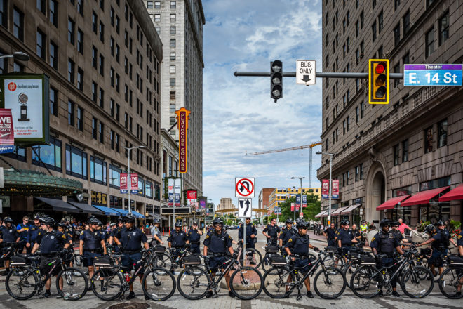 RNC Diary: Riot Gear and Hugs in Cleveland